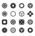 Machine Gear Wheel Cogwheel vector image vector image
