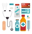 Medical healthcare graphic vector image vector image