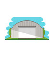 Modern storage terminal isolated icon vector image