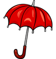 Umbrella clip art cartoon vector image