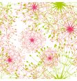 dandelion seamless pattern vector image