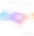 abstract background with halftone square vector image