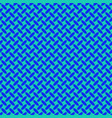 blue geometrical halftone ellipse pattern vector image vector image