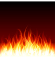 Burning flames background vector | Price: 1 Credit (USD $1)