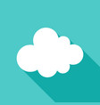 cloud object icon vector image