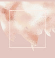 elegant background with rose gold for sales blogs vector image vector image