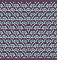 fish scale pattern graphic background vector image