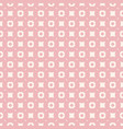 pink geometric texture abstract seamless pattern vector image vector image