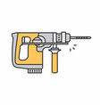 puncher icon vector image vector image