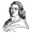 sir henry harry vane vintage vector image vector image