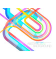 Abstract colors concave motion scene