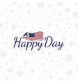 celebrate happy 4th of july - independence day vector image vector image