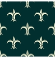 French seamless pattern with fleur de lys flowers vector image vector image