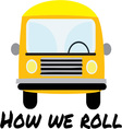How We Roll vector image