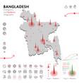 map bangladesh epidemic and quarantine
