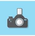 photo camera web icon vector image