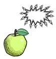 apple-100 vector image vector image