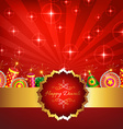 Creative design of diwali vector image vector image