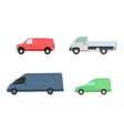 Different cars transport set vector image vector image