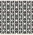 geometric seamless pattern in tribal ethnic style vector image vector image