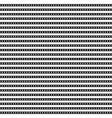 horizontal arrangement geometric shapes vector image vector image
