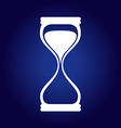 Hourglass Blue vector image vector image