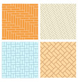 seamless brick pattern for floor and wal vector image vector image