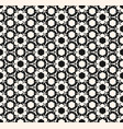 abstract geometric seamless ornamental pattern vector image vector image