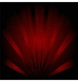 Abstract technology dark red background with rays vector image vector image