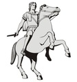 Alexander the great vector image