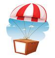 cardboard shipping via airmail