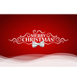 Christmas lettering greetings card