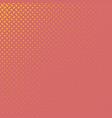 color halftone diagonal ellipse pattern vector image