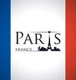 Paris design vector image