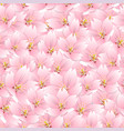 Sakura cherry blossom seamless background