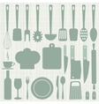 Seamless kitchen vector image vector image