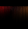abstract background is from glowing stripes and vector image vector image