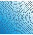 abstract maze vector image
