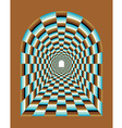 Abstract tunnel vector image