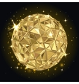 Geometric Disco ball vector image vector image
