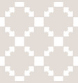 geometric seamless pattern with squares vector image