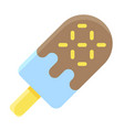 ice cream pop icon summer vacation related vector image vector image