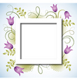 page layout postcard vector image vector image