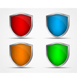 Set of icons of different colors and shapes of