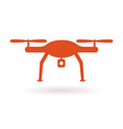 wifi drone icon vector image