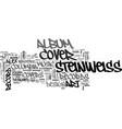 alex steinweiss creator of album cover art text