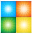 Sunburst Rays vector image