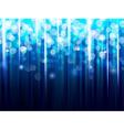 Blue sparkling background vector image