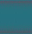 color halftone diagonal ellipse pattern vector image vector image