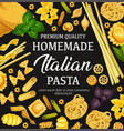 homemade pasta cooking and italian cuisine vector image vector image